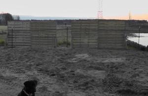 Windschutz Offenstall