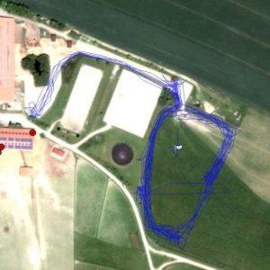 GPS Messung Offenstall