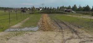 Bodenbefestigung Offenstall Laufweg